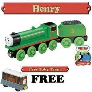 Henry Thomas Friends Wooden Train Free Toby