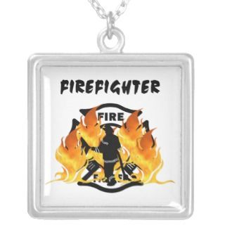 Fire Dept Flames Pendants