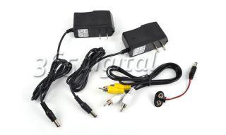 Mini Wireless Hidden CCTV Security AV Pinhole Camera