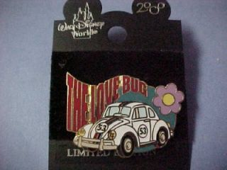 herbie the love bug 53 volkswagon disney le pin
