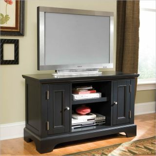 Home Styles Bedford Wood Ebony Finish TV Stand