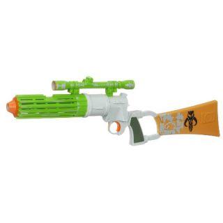Star Wars Clone Wars Electronic Blaster   Boba Fett Toys