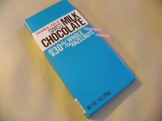 trader joe s 30 % whole hazelnuts swiss milk chocolate
