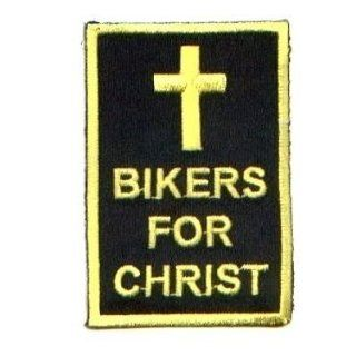 Bikers For Christ Christian Embroidered Biker Patch
