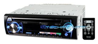 DEH X5500HD CD  USB CAR STEREO RECEIVER W/ HD RADIO PANDORA MIXTRAX