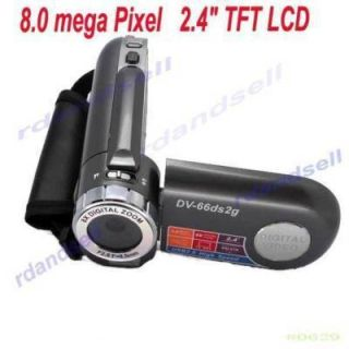 LCD 4X Zoom DSC 8MP HD Digital Video Camcorder Camera DV Grey