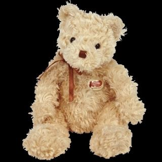 Ty Herschel The Bear Beanie Baby Cracker Barrel Excl