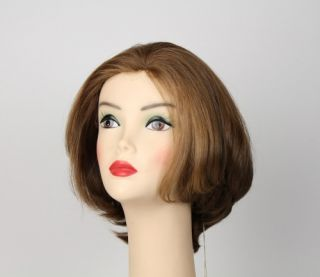 Hair Freeda Wig Light Brown with Strawberry Blonde Highlights