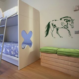 Horse Beautiful Jumping Riding Wall Art Sticker HO10