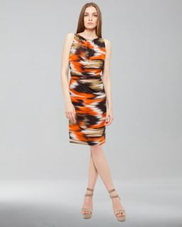 Haute Hippie Ikat Print Dress