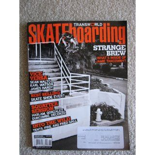 Skateboarding January 2010 Jamie Tancowny Best Selling Skate Shoe Ever