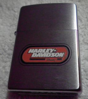 Zippo Lighter Harley Davidson motorcycle new