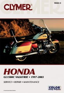 Clymer Repair Manual Honda GL1500C Valkyrie 97 03