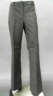 Van Heusen Studio Ladies Womens 16 Stretch Dress Straight Pants Gray