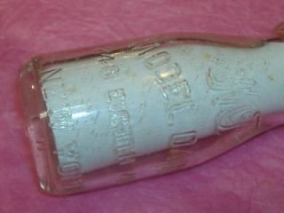 Glass Half Pint Dairy Milk 1 2 Antique Heuvelton NY Bottle