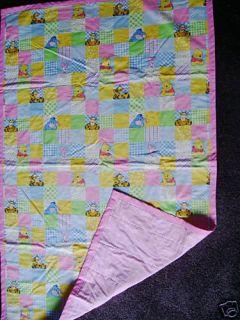 Disney Winnie The Pooh Friends Handmade Comforter New