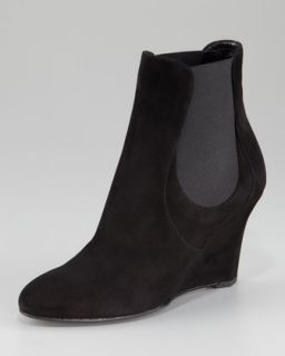 Tory Burch Vikki Lace Up Wedge Bootie