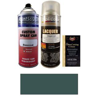 12.5 Oz. Dark Green Blue Metallic Spray Can Paint Kit for 1994 Toyota