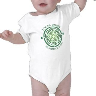 100 Percent Irish Celtic Medallion T shirt