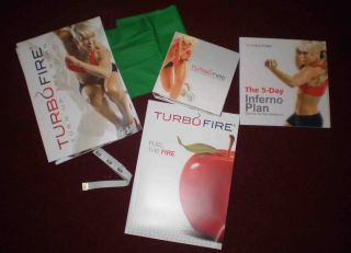 Turbofire 15 DVD Hot Workouts by Chalene Johnson Free Shipping
