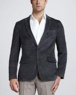 Brunello Cucinelli Thermore Fill Jacket, Windowpane Check Sport Coat
