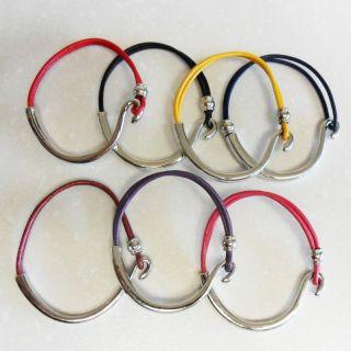 Leather Hook Wrist Band Bracelet Popular Drama Fashion