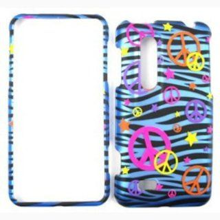 LG THRILL 4G (AT&T) Trans. Design. Colorful Peace Signs on