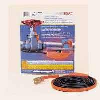 New 9 Foot Easy Heat Pipe Heating Cable Heat Tape Kit