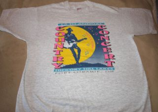 Vintage Country Concert Hickory Hill Lakes 1994 T Shirt Adult Large