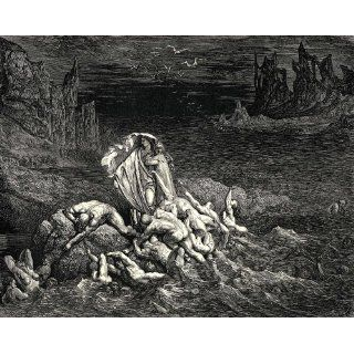 8 x 6 Mounted Print Dore Gustave 23 Now seest thou son