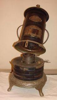 Antique Kerosene Stove   Florence 810 Heater Central Oil & Gas Co