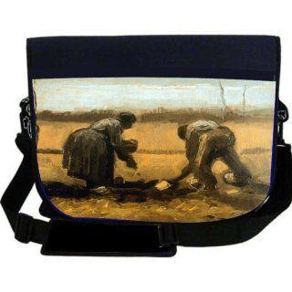 Van Gogh Art Pink Peach Trees NEOPRENE Laptop Sleeve Bag