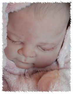 Reborn Libby OOAK Doll Lifelike Fake Art Artist Baby Sculpted by Cindy