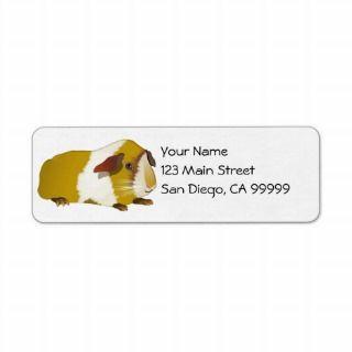 Grinning Guinea Pig Return Address Labels