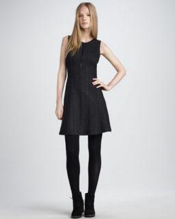 RED Valentino Sleeveless Full Skirt Dress