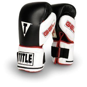 Title Boxing Gloves Heavy Bag Gel Power Weighted Regular MMA Boxing