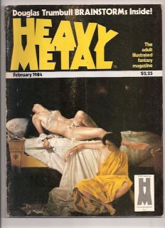 Heavy Metal Magazine February 1984 Richard Corben Moebius Liberatore