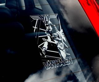 Halen Car Window Sticker Heavy Metal Hard Rock Music Eddie Sign