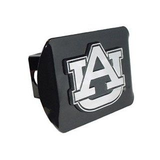 Auburn University Tigers (AU) Black Trailer Hitch Cover