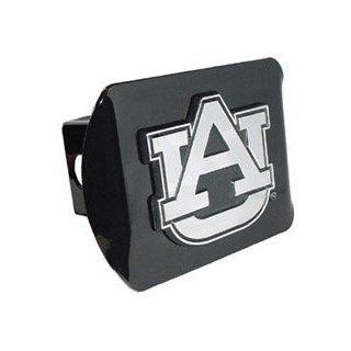 Auburn University Tigers (AU) Black Trailer Hitch Cover