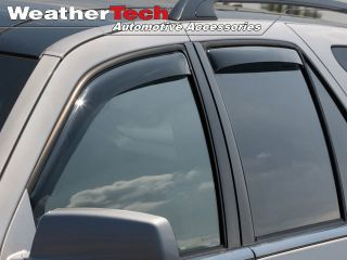 Weathertech® Side Window Deflectors 2004 2009 Cadillac SRX