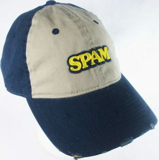 Hormel Foods SPAM Novelty HAT Ball Baseball Cap NWT Advertising
