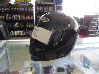HJC RPS 10 Black Motorcycle Helmet Sz XL XLarge