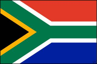 South Africa African Flag T Shirt 8 Sizes 3 Colors