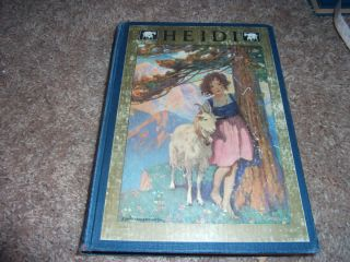 1922 1st Jessie Willcox Smith HEIDI Johanna Spyri Life in the Swiss