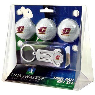Central Michigan Chippewas NCAA 3 Ball Gift Pack w