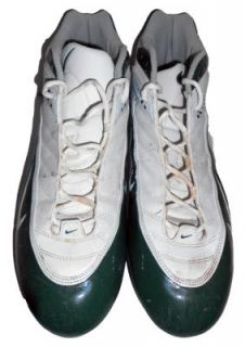 Abdul Hodge Green Bay Packers 2007 Game Used Nike Cleats Iowa Hawkeyes