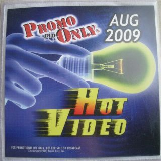 PROMO ONLY HOT VIDEO DVD AUG 2009 LADY GAGA JUSTIN BIEBER KATY PERRY