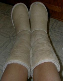 Trashed Well Worn Loved Classic Tall UGG Boots Sz 6