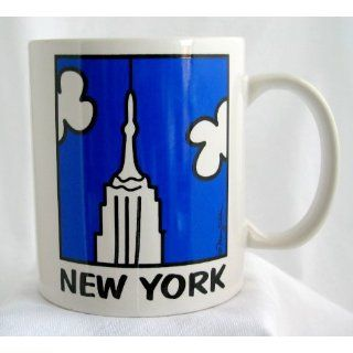 New York NYC Empire State Building Souvenir Coffee Cup